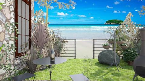 Caribean Hillside Villa - Garden - by whodat1910