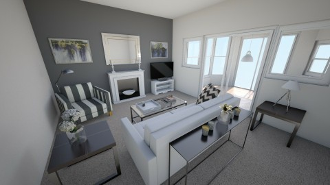 new house 3 - Living room - by rosiedoll