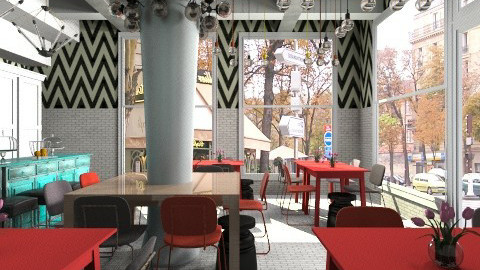 Vice Coffee Corner - Modern - by 3rdfloor