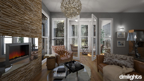 Rainy day - Eclectic - Living room - by DMLights-user-982763