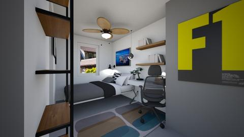 Isaacs Room 2 - Bedroom - by louisdhe