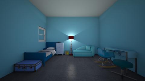 boy room - Kids room - by lilybug1111111119