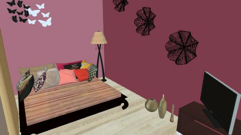 lux loft pink2 - Eclectic - by repelikeva