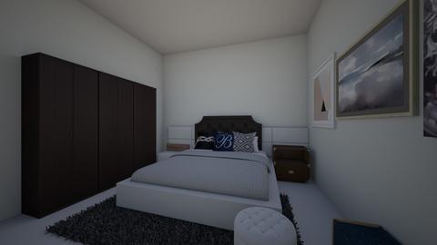 sypialnia  - Bedroom - by paulinepaulinepauline