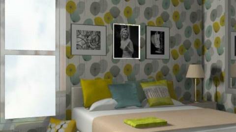 60 - Retro - Bedroom - by catcarla