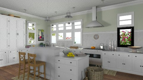 Cape Cod Kitchen - Classic - Kitchen - by saraho1990