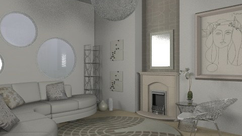 whiteee - Modern - Living room - by Andrea_