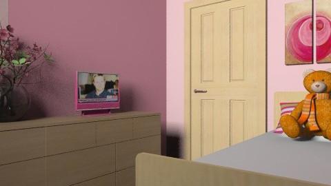 Malissa's Bedroom12 - Modern - Bedroom - by yvonne400cc