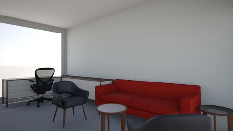 Jeremy Rock Loveseat Saar - Office - by e57assistants