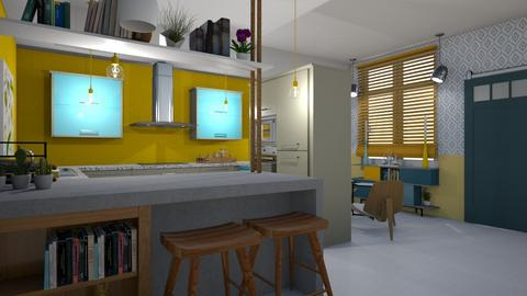 Eclectic kitchen - Eclectic - Kitchen - by augustmoon