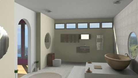 Peace and tranquility - Modern - Bathroom - by Nicky West