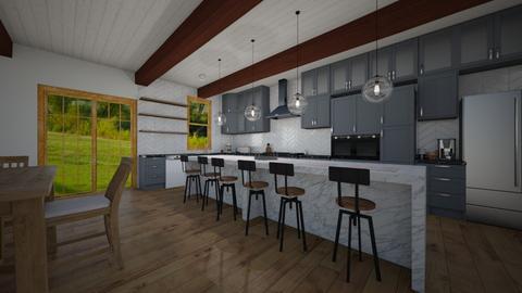 Farmhouse Kitchen - Country - Kitchen - by Avery McCaffrey