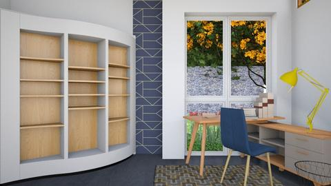 College Studier  - Modern - Office - by XiraFizade