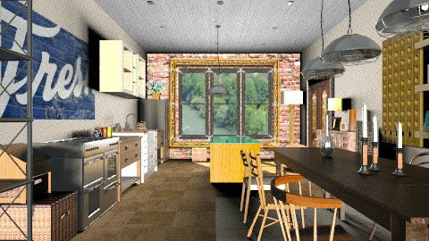 Old School House Kitchen - Eclectic - Kitchen - by camilla_saurus