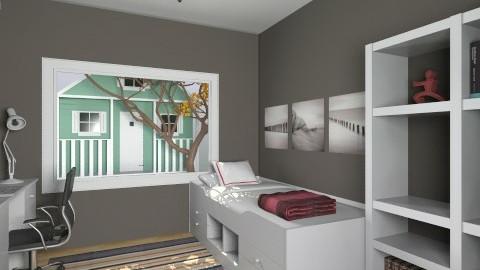 For De Tre Tosser 2 - Eclectic - Bedroom - by Theadora