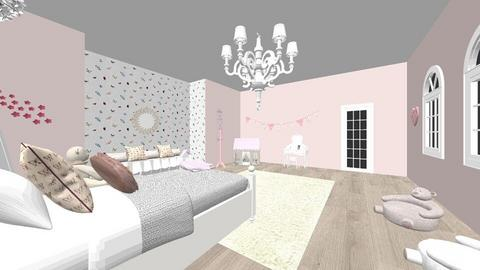 Little girls room  - Kids room - by Maddie Fuller