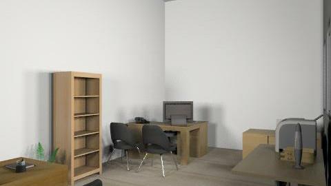 Sala recepção funilaria - Classic - Office - by Larissa Marin