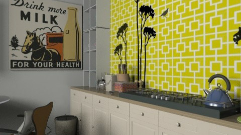 Cook with the Trees - Retro - Kitchen - by BambooPenguin