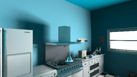 Finished Kitchen  - Kitchen - by A_Alleya