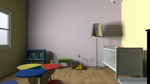 baby boy room - Kids room - by tigerclaw2001