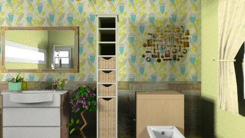 bathroom 1 - Minimal - Bathroom - by Patricia Mari Rosario