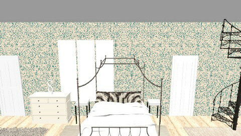 Hampton Style Beach Bed - Bedroom - by miriamitalia3