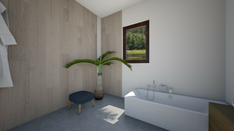 h - Bathroom - by Karolina Banasiewicz