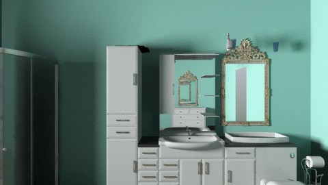Bathroom part 1 - Bathroom - by JA Design