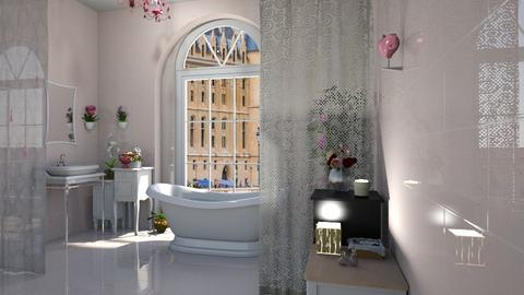 shabby chic bathroom - Bathroom - by ClaraBart