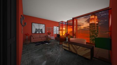 valentijns hotel  - Bathroom - by lunaklaassen