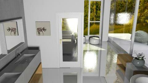 White Bathroom - Minimal - Bathroom - by Gubacsi Judit