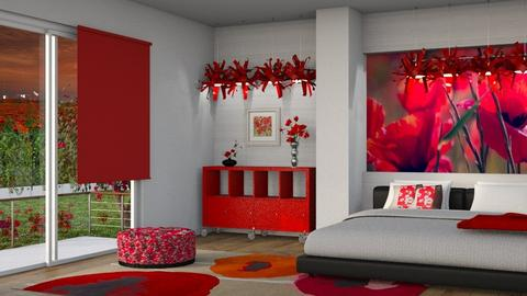 Red Poppies - by Snowbell
