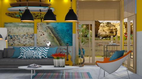 surf liv - Living room - by lais baptista