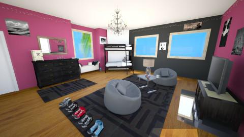 chill kids room - Bedroom - by gabriellapadilla957
