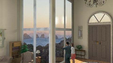 Enjoying Home - Living room - by deepthinker