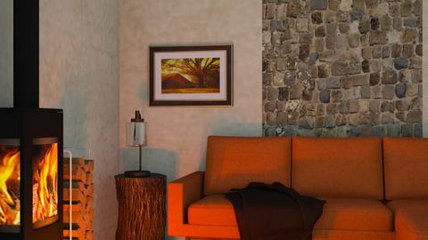 Rustic - Rustic - Living room - by RaeCam