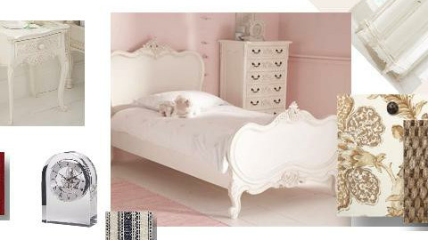 nina bedroom - by nada rose