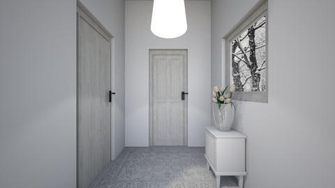 little white lobby - Minimal - by lokneszikolbasz