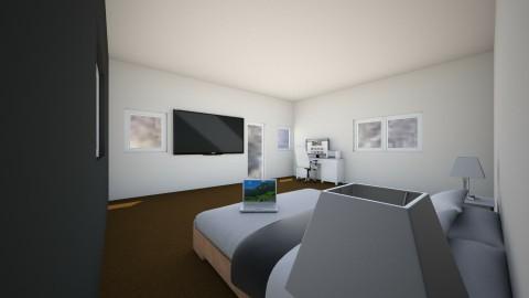 black n white - Bedroom - by Shawnique Mccloggan