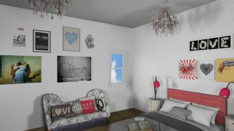 Romantic Love - Classic - Bedroom - by 1930