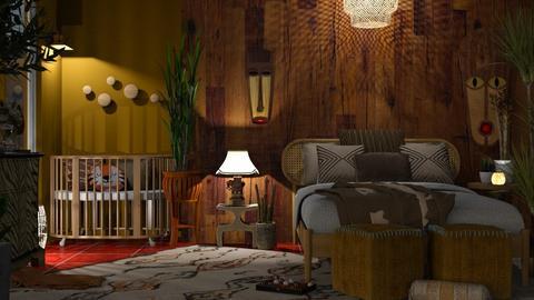 africa - Global - Bedroom - by jjannnii