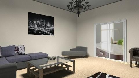 living room b and w - Modern - Living room - by AoifeK