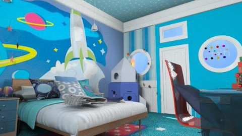 Astroboy - Classic - Kids room - by pachecosilv