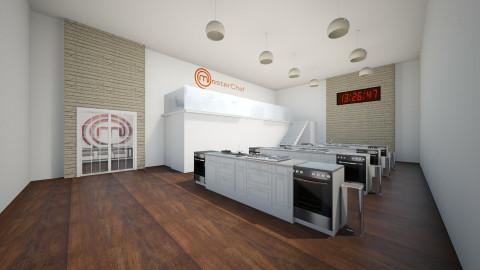 Masterchef Kitchen - Modern - Kitchen - by Keliann