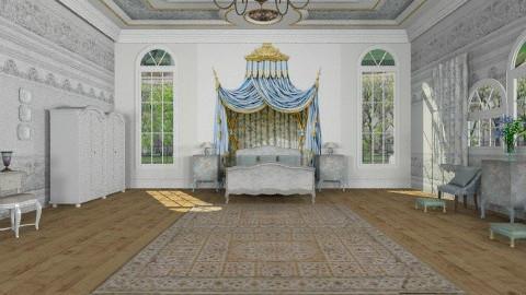 Stone angel  - Classic - Bedroom - by auntiehelen