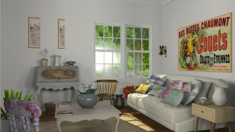 The Junk Shop - Vintage - Living room - by Carliam