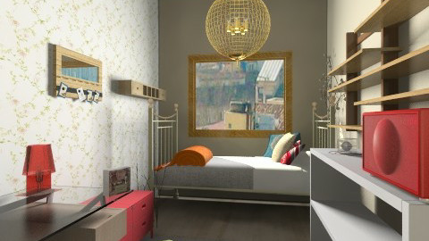 My room - Feminine - Bedroom - by Beixpidu