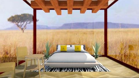 african safari room - Rustic - Bedroom - by fluffybunny1426