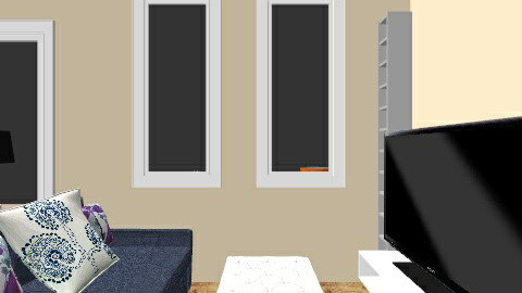 Two bedroom house - Living room - by ash_luzadio