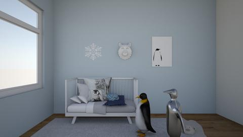 penguins - Kids room - by Emmaxgo